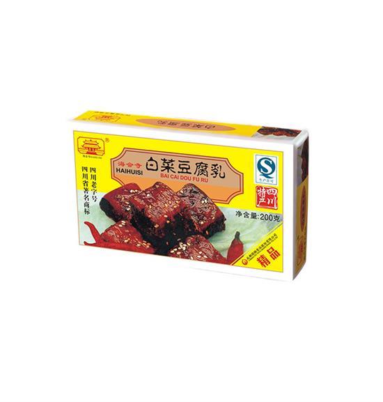 200g精品白菜腐乳(盒装)